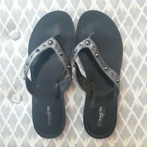 Coach sandles size 9